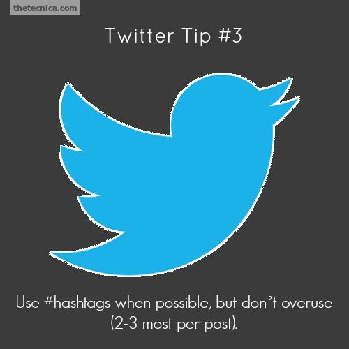 Twitter tip 3