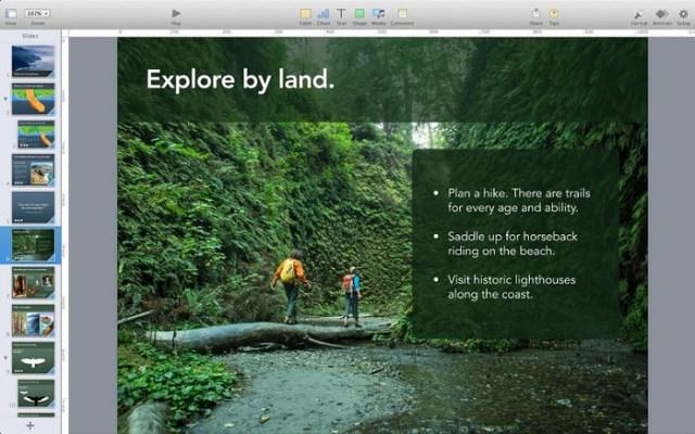 Keynotes - Alternatives to Microsoft Powerpoint
