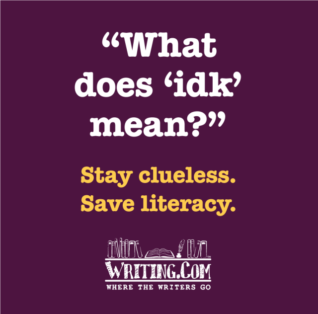 Stay Clueless, save literacy.