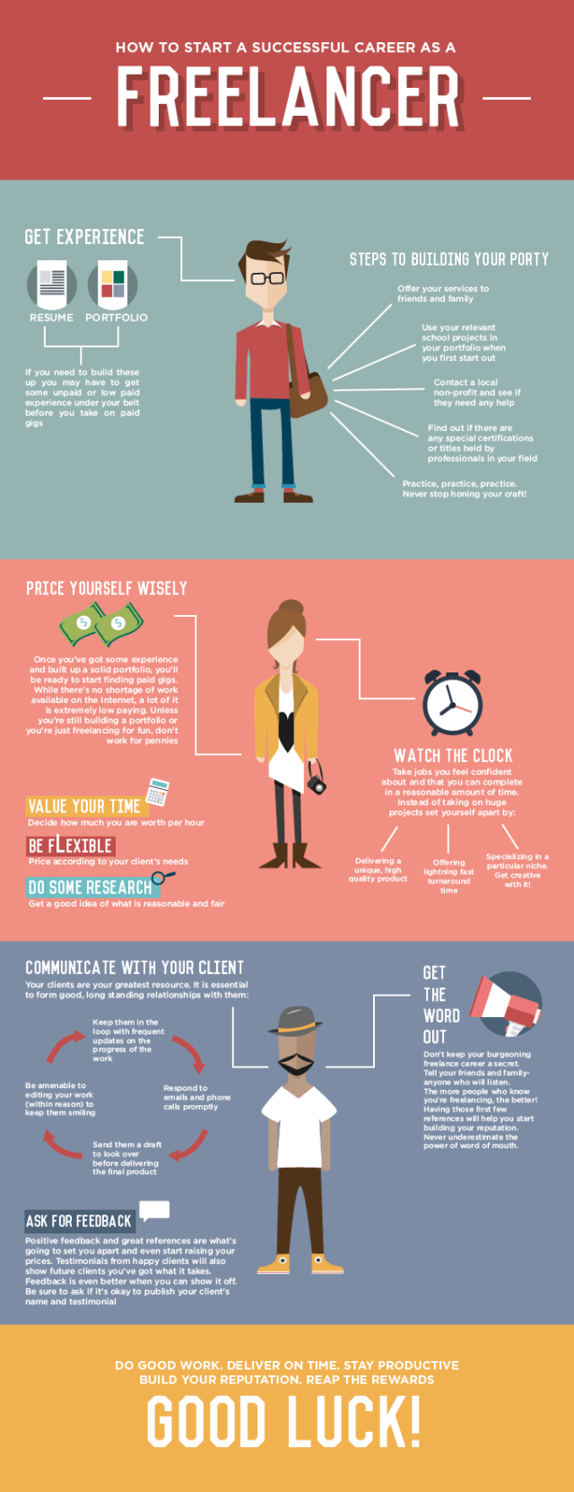 How-to-start-a-successful-career-as-a-freelancer-infographic