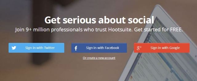 Hootsuite startup tool