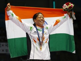 Mary Kom Overjoyous At Winning The Gold Medal