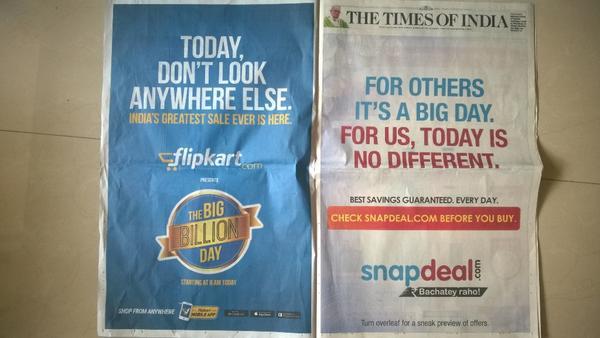 Snapdeal vs. Flipkart