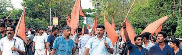 Shiv sena opposers