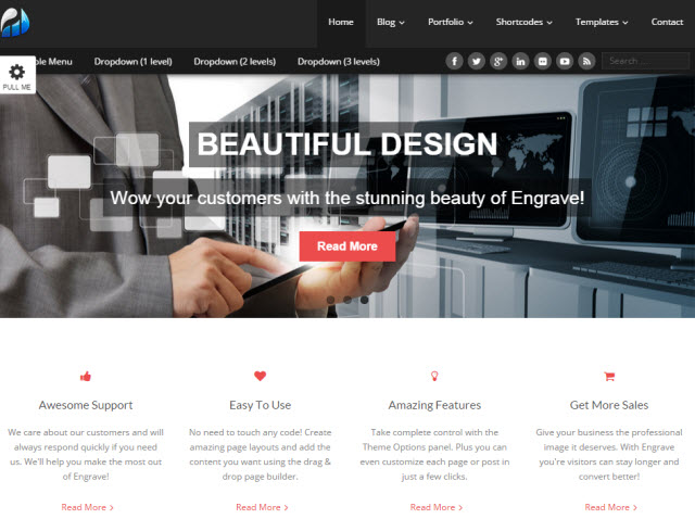 Engrave Business Theme