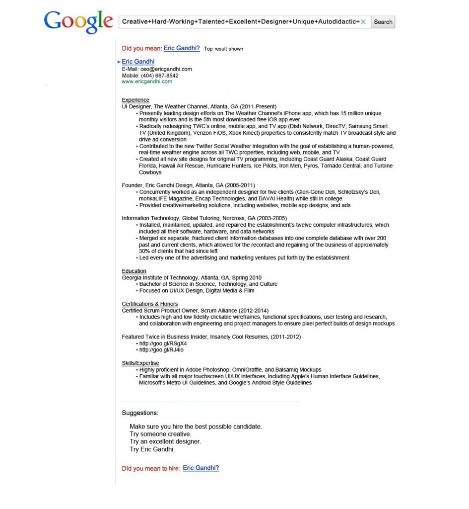 Nice Google Resume Pdf Ebook Pictures Inspiration - Examples ...
