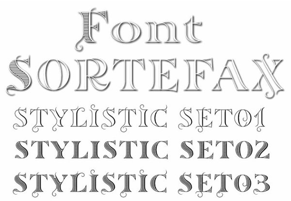 monogram-fonts-sortefax