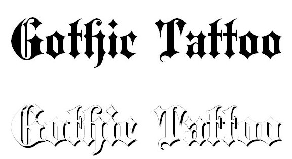 30 Best Free Tattoo Fonts (2015)