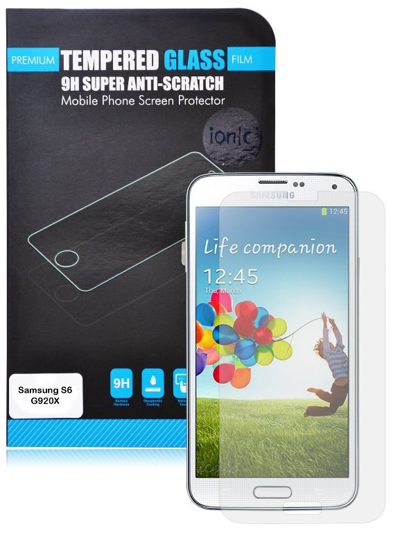 Ionic Tempered Glass Samsung Galaxy S6 Screen Protector