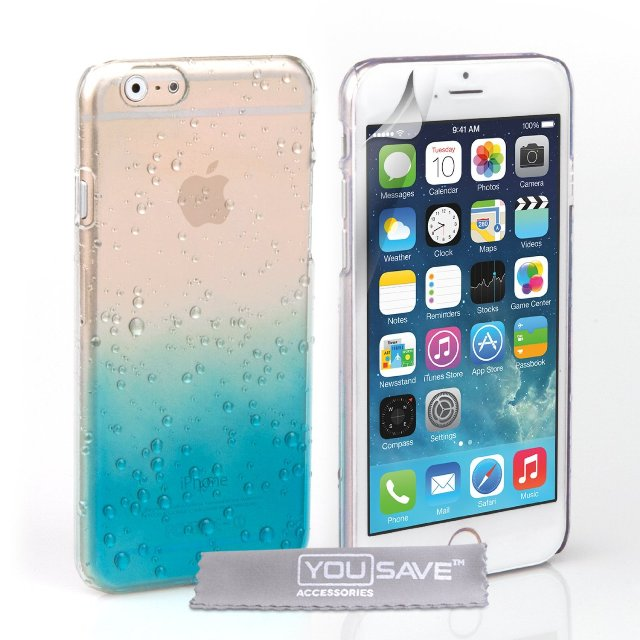 Yousave Accessories Raindrop iPhone 6 Case