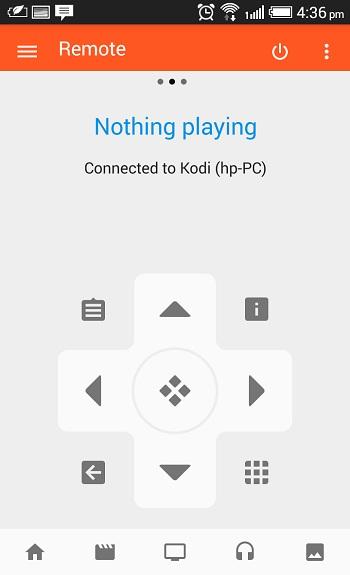 Kore - Kodi android remote app