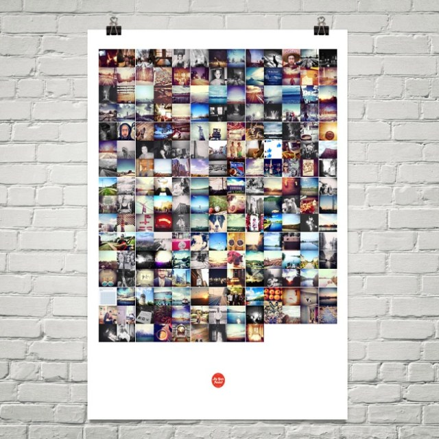 Print Your Instagram Photos on A Poster