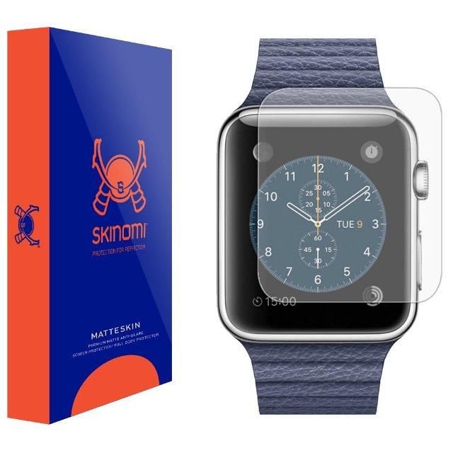 Skinomi MatteSkin Apple Watch Screen Protector
