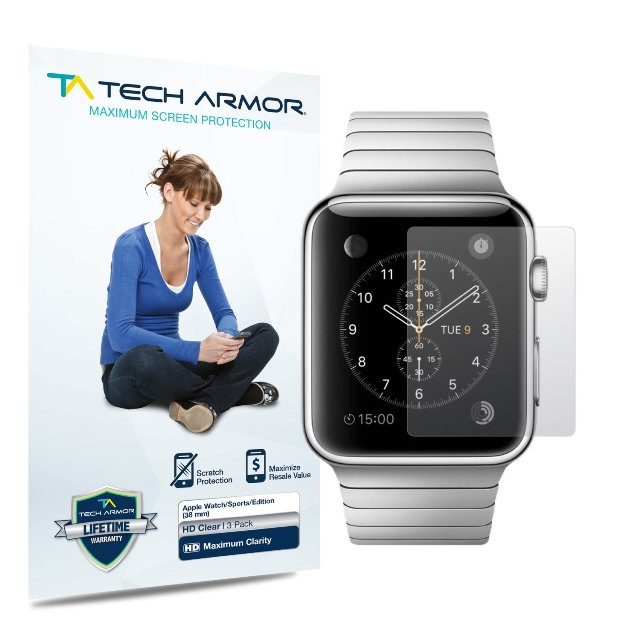 Tech Armor Apple Watch Screen Protector