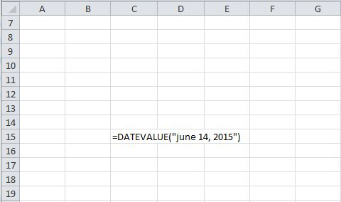 Datevalue
