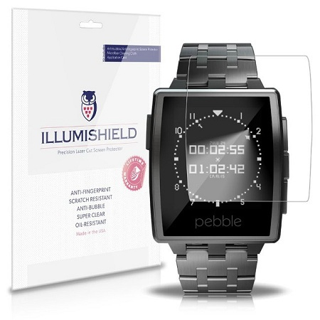 iLLumiShield-Pebble-Screen-Protector