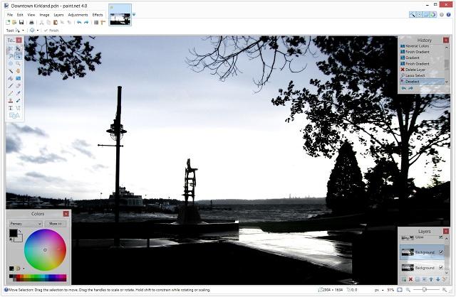 Paint - лучшее программное обеспечение для редактирования фотографий