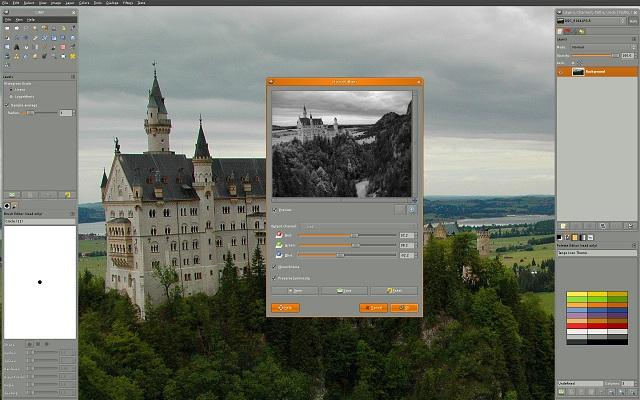 GIMP - лучшее программное обеспечение для редактирования фотографий
