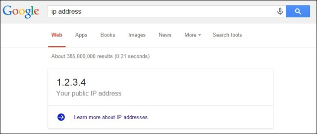 Know your IP Address