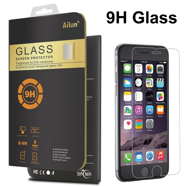 ALLUN Tempered Glass iPhone 6s Plus Screen Protector