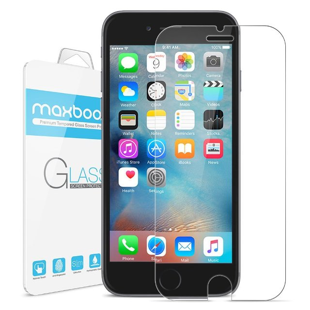 Maxboost Tempered Glass iPhone 6s Screen Protector