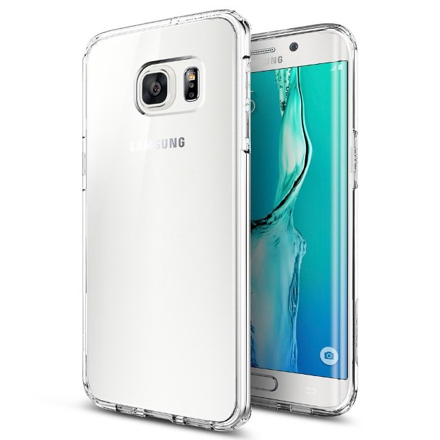 Spigen Crystal Clear Galaxy S6 Edge Plus Case