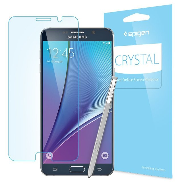 Spigen Crystal Full HD Galaxy Note 5 Screen Protector