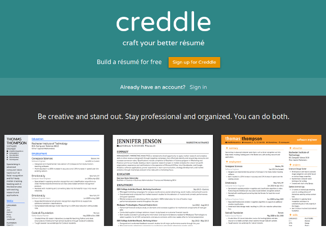 10 Best Online Resume Tools 2015 Free and Paid