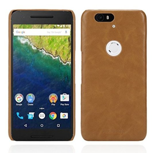 AceAbove Premium Leather Nexus 6P Case