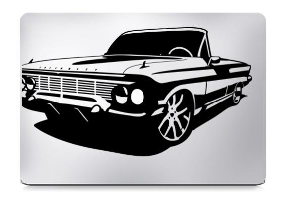 Impala Converticle Macbook Decal Sticker