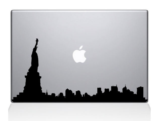 New York Macbook Decal Sticker