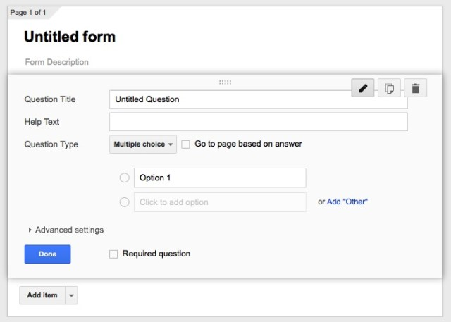 Online Quiz -bb- 01a - Google Forms