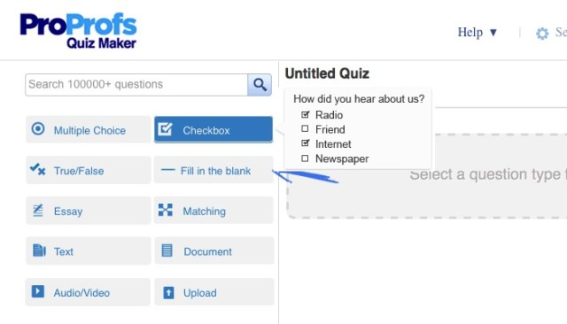 Online Quiz -bb- 06b - ProProfs Create