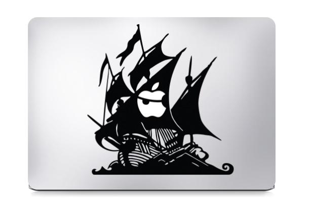 Pirate Ship Macbook Decal Sticker