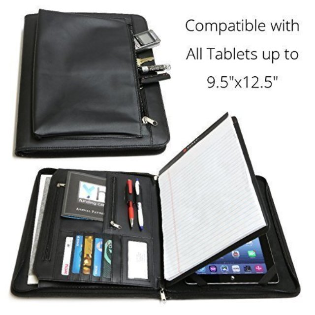 Universal Business Leather Portfolio for iPad Pro