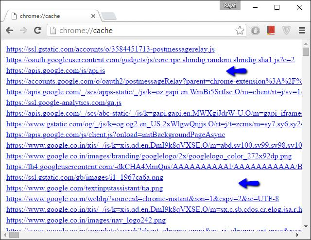 chrome_cached_webpages