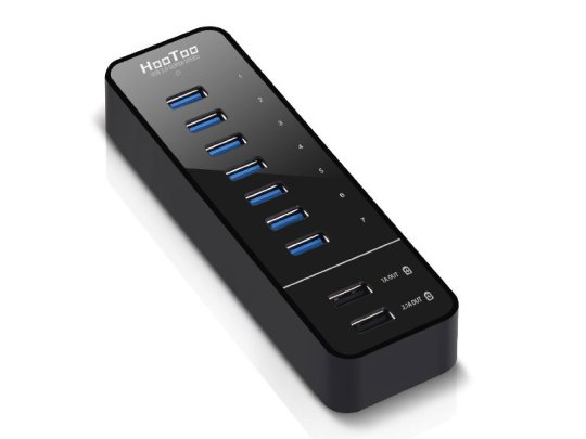 HooToo 7 Port USB 3.0 Hub