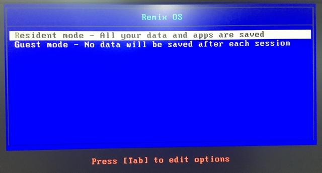 Remix OS modes
