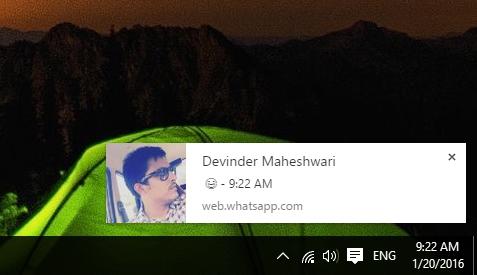 WhatsApp Tricks Desktop Notifications