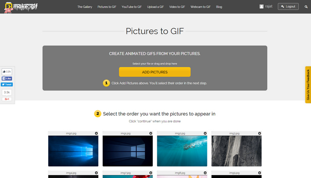 13 best gif maker apps and tools you could use beebom make a gif negle Gallery