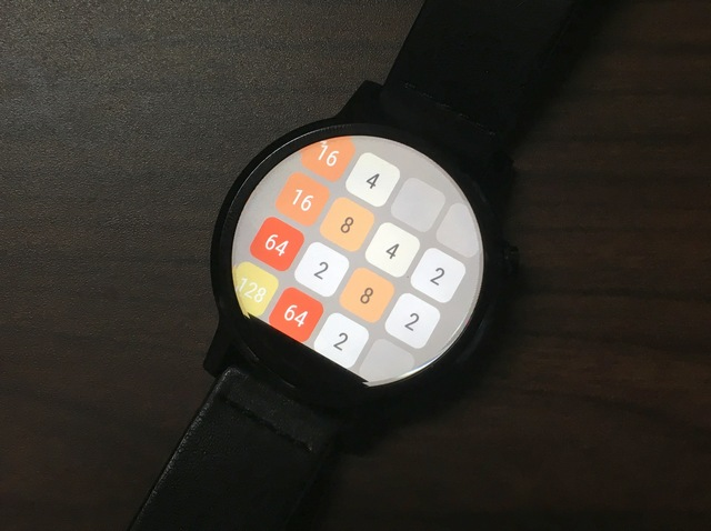 2048 Android Wear