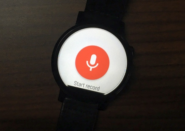 Audio Recorder Android Wear