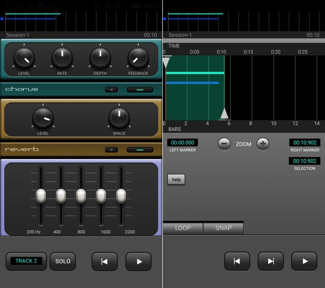 Альтернативы Garageband -bb- J4T Multitrack 2
