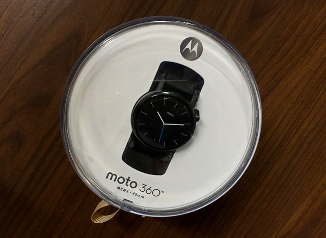 Moto 360 2nd gen Box