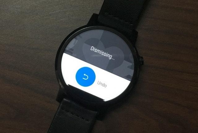Moto 360 undo dismiss notification