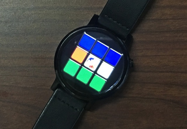 Rubics cube Android Wear