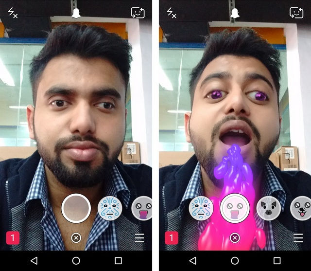 Snapchat Tricks lenses