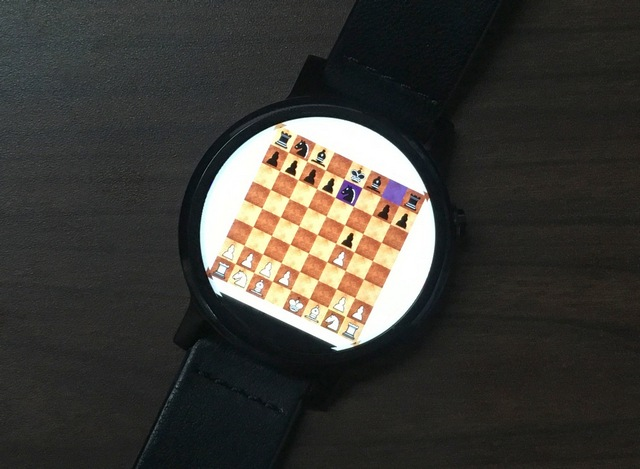 Wearable Chess