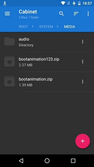 change boot animation Android