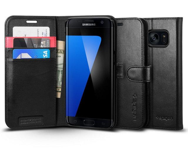 spigen premium wallet case